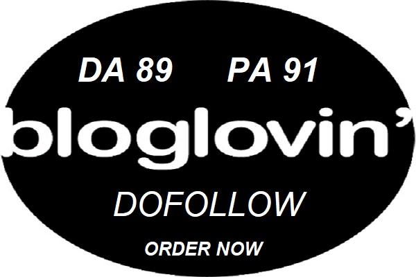 Publish Guest Post On Bloglovin Da 89 With Dofollow