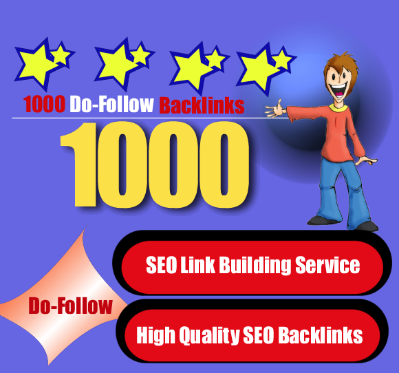 create 1000 Backlinks and Linkwheel from 10 Web 2.0 High PR  sites