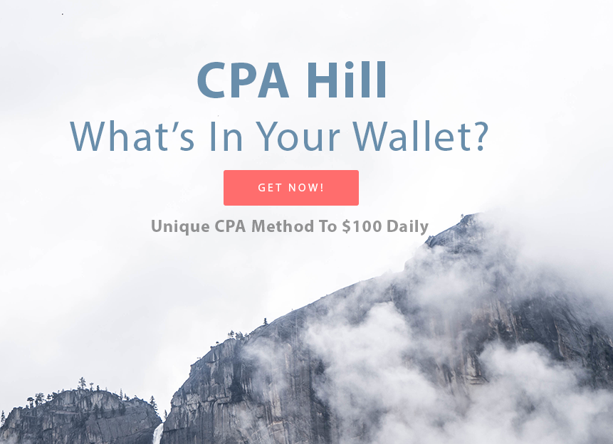 2017 Unique CPA Method To 100 Dollars Daily