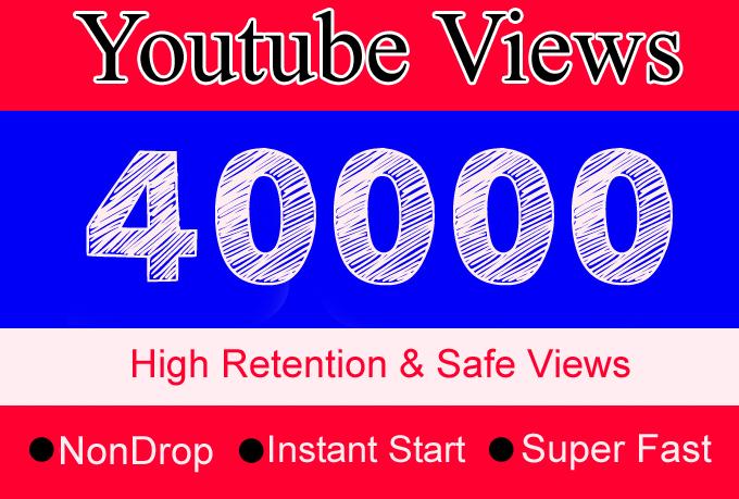 5K + 10K + 25K Total 40K High Retention, Non Drop, Fast & Safe, Instant Start 5000 + 10000 + 25000 Total 40000 Youtube Views