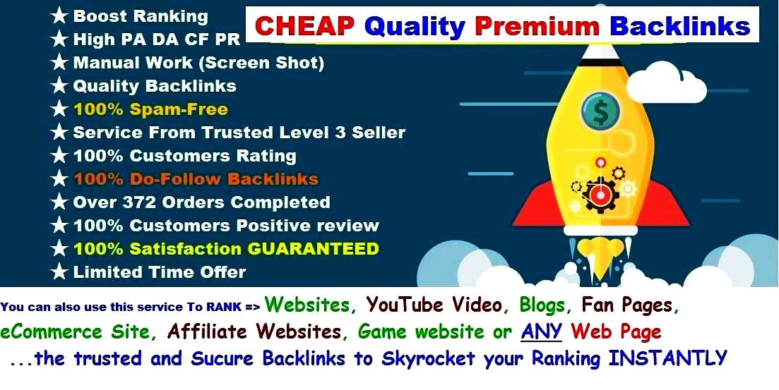 INSTANT Rank BOOSTER SEO BULLET Backlink - Give You G...
