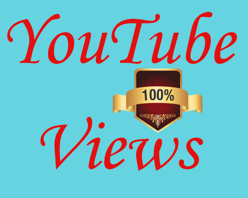 will 100,000 , 100k and 100000 Youtube views and 50 Comments And Likes Free