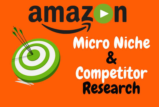 Amazon Niche Research & Competitor Analysis