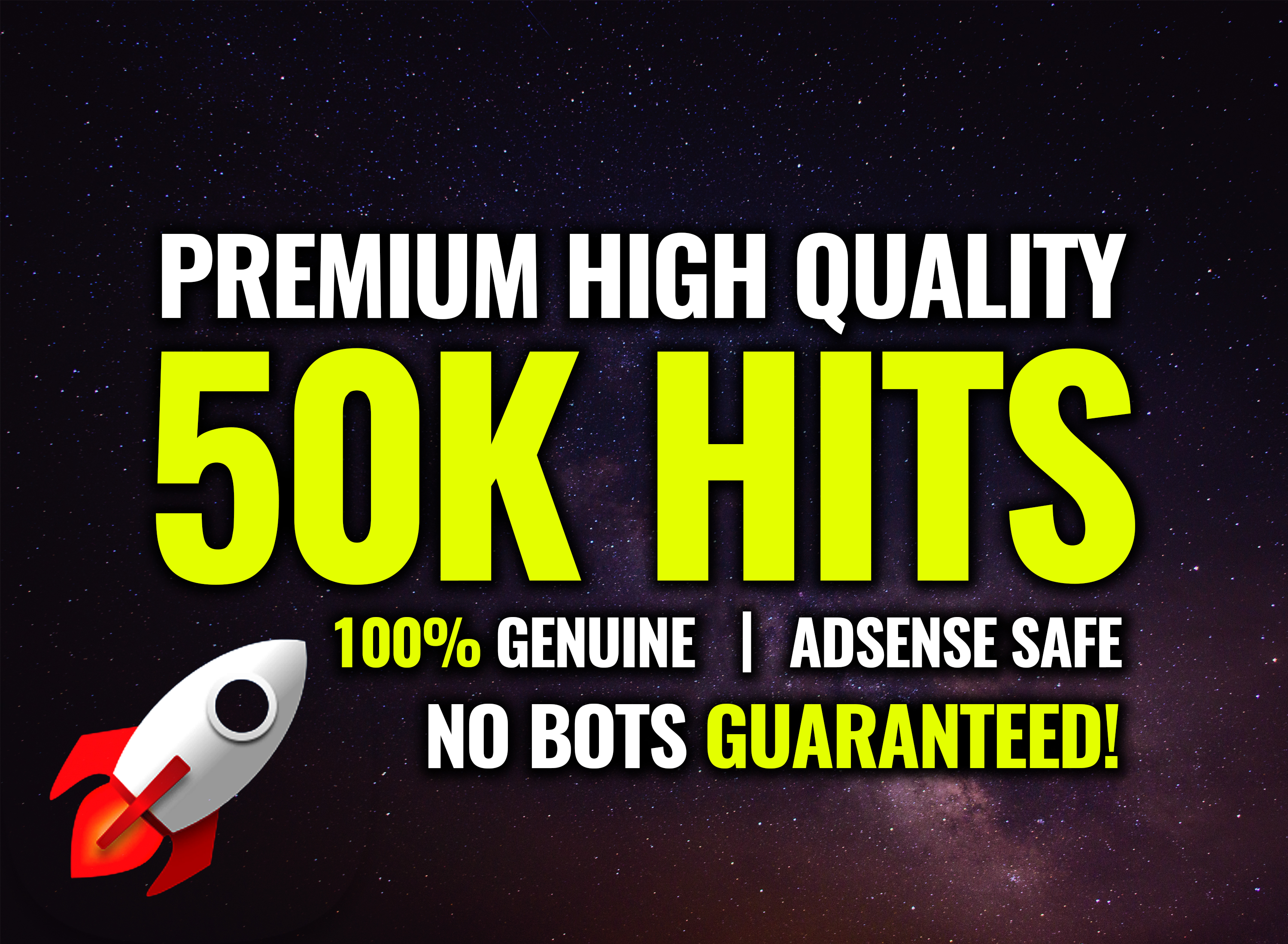 Skyrocket Your Website With 50k Safe and Genuine Real Human Traffic Organically
