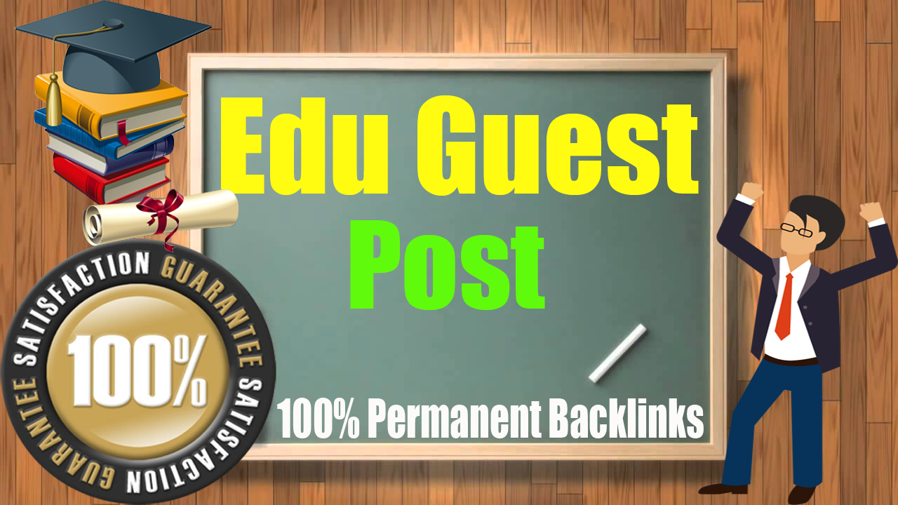 5 High Unbeatable Edu Guest with SEO Dofollow Backlinks for 2020