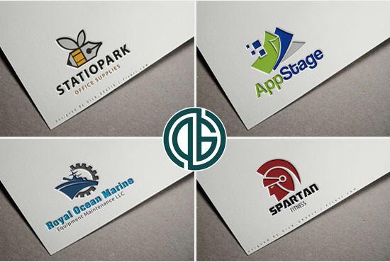 provide 3 unique company logo