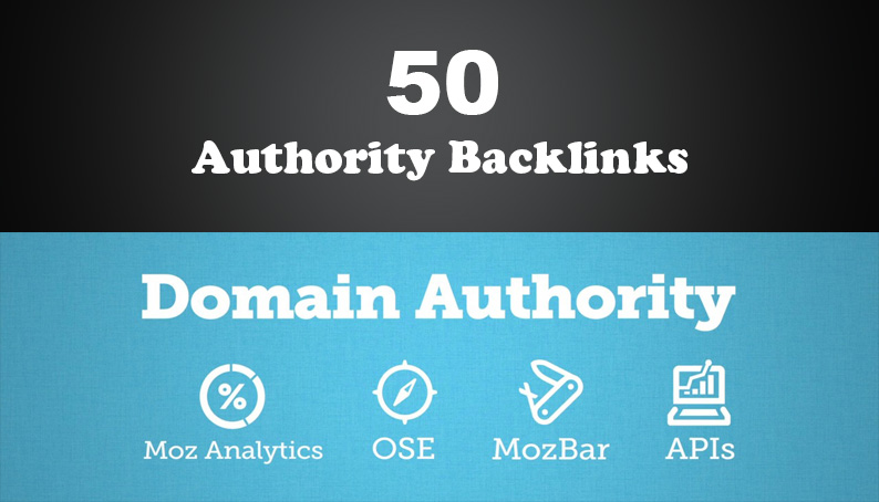 50 PR 59 Unique High Authority Backlinks