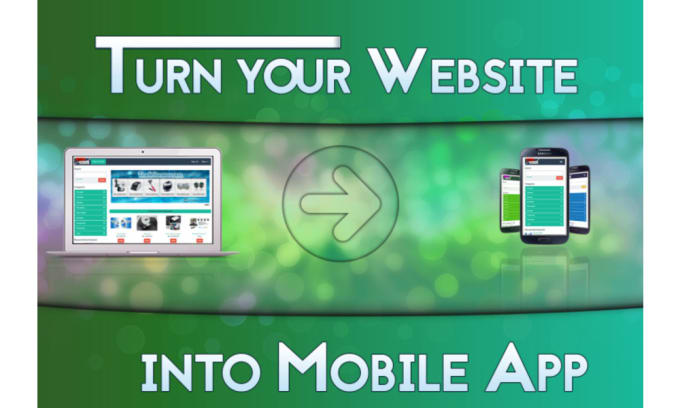 I can convert your website to an android app