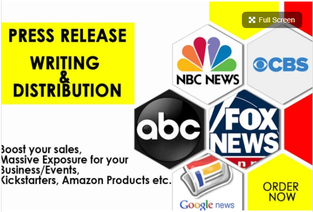 Write Professional Press Release And Do Press Release Distribution to Top 25 Network