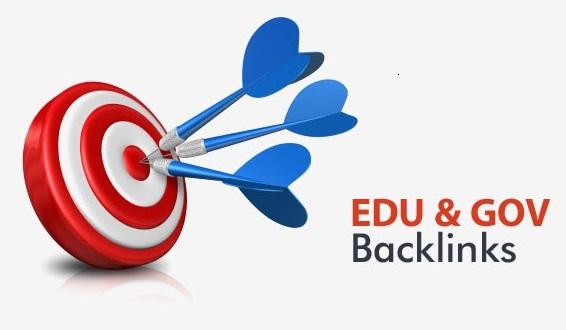 20 Edu and Gov Backlinks