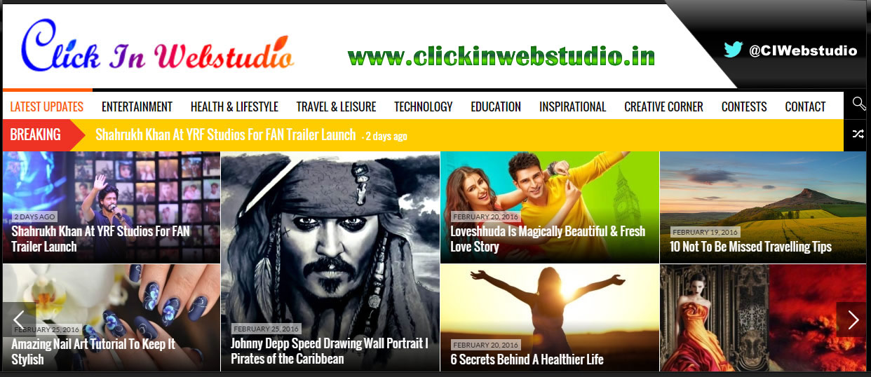 ReviewMusic/website/product On Bollywood Magazine Visited By Celebrities