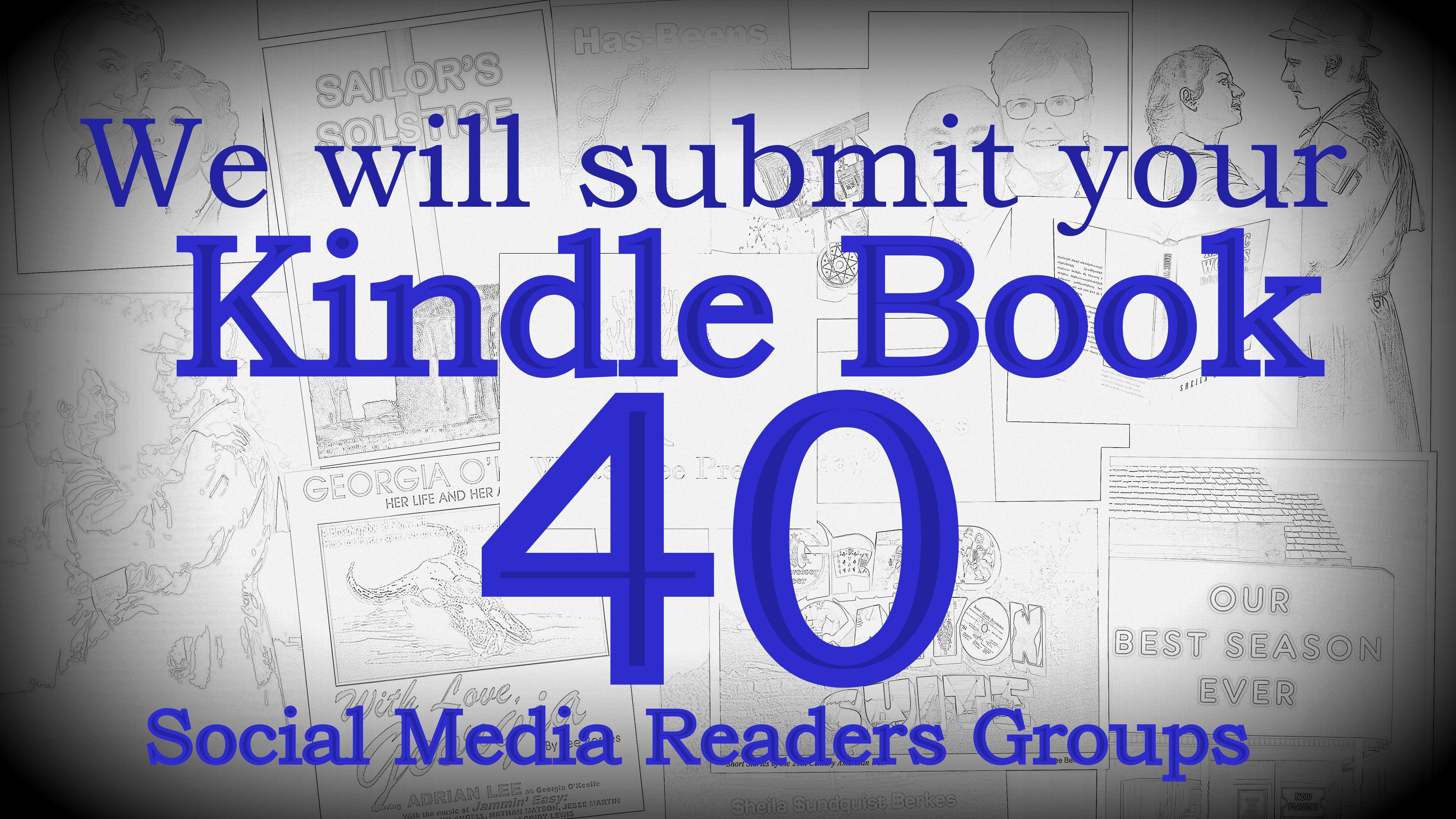 Submit you kindle e book to 40 social reading communi...