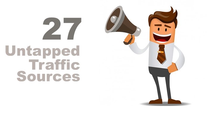Want Untapped Free Traffic provide you with guaranteed 27 Untapped traffic Sources