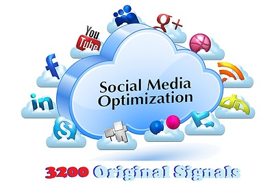 Build 3200 Powerful Social Signals, Quality and Cheapest service on Seoclerks fo