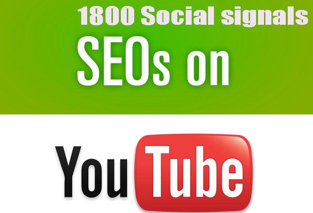 CPA Marketing youtube seo best package 1800 social signals Only