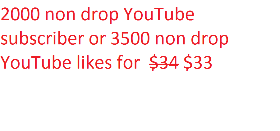 2000 non drop YouTube subscrib instant starts
