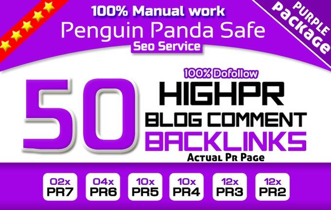Manually High PR 20 Edu & Gov Do Follow Backlinks for 5