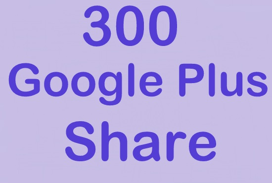 300 google plus post share