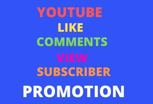 Organic All package Real YouTube promotion refill guaranteed super fast delivery