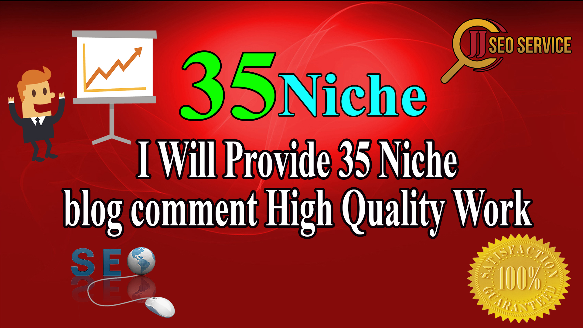 I Will Do 35 Niche Relevant Blog Comment Service. We Work Hard For Your Success. The Order Now Button For Manual Blog Commenting Service For High PR.