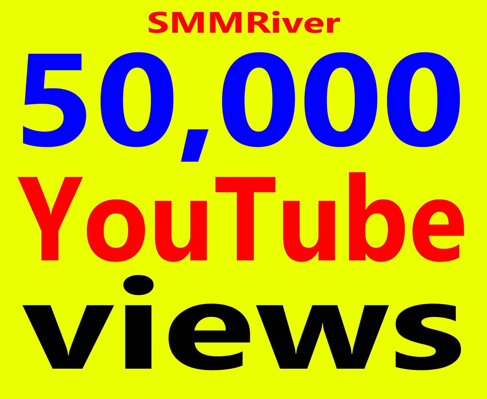 Fast 50,000+ Views High Retention 99% Ad-sense Safe & Non Drop