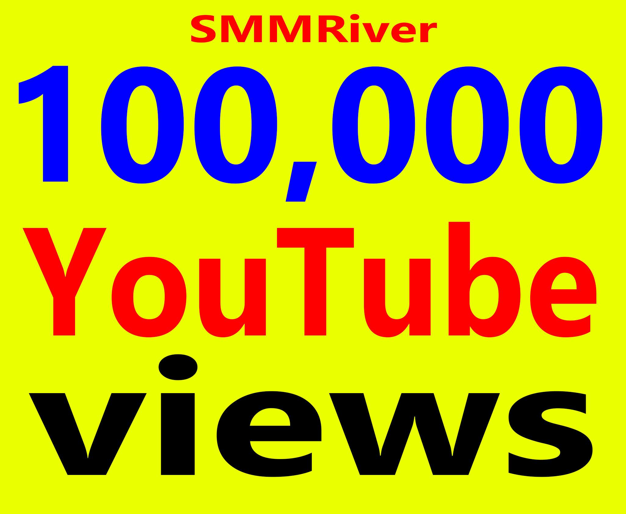Fast 100,000+ Views High Retention 99 Adsense Safe amp Non Drop