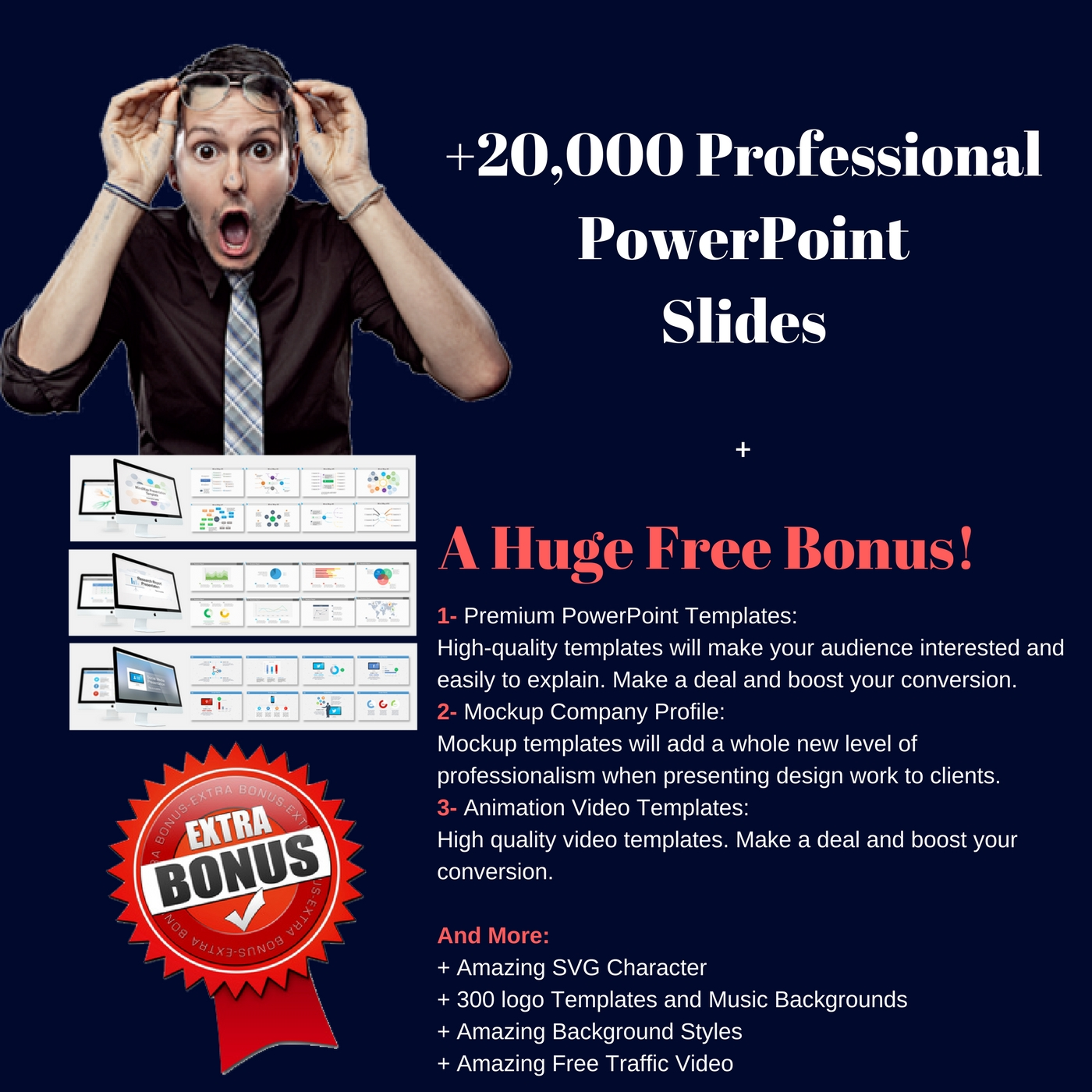 Give 20,000 PowerPoint Slides For Your Presentations