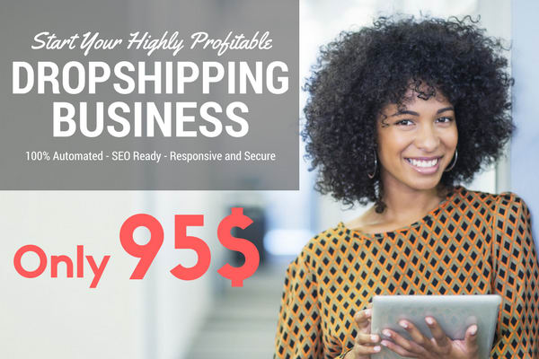 Automated DropShipping Shop + Products