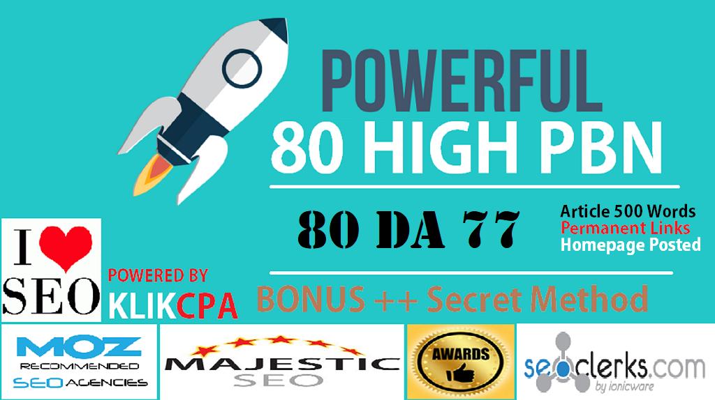 80 PowerFul High PBN Permanent Manual Post DA 66 Dofo...