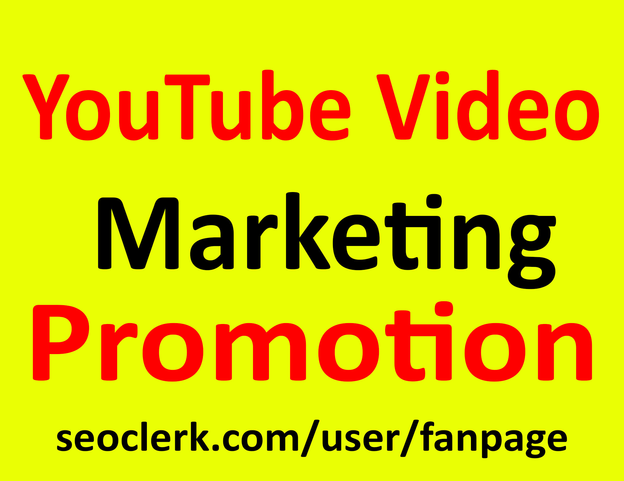 YouTube Video Promotion & Marketing Active Audien...