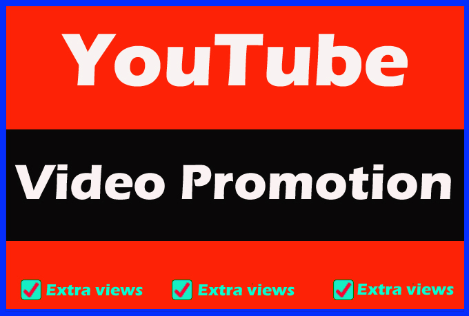 YouTube video Promotion