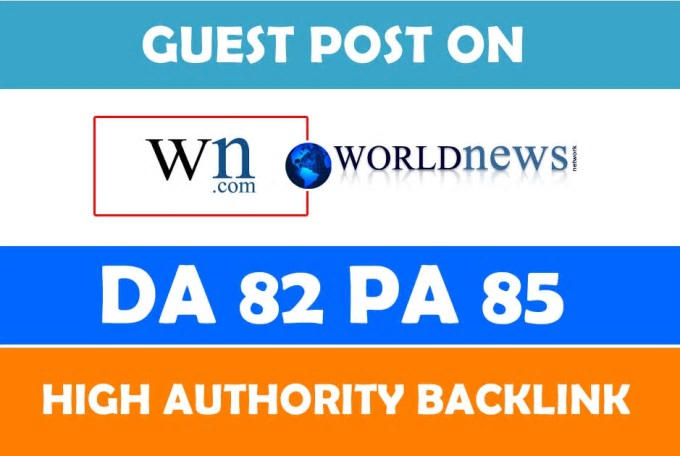 Write and publish guest post on wn