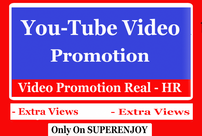 Organic Views Promotion and marketing