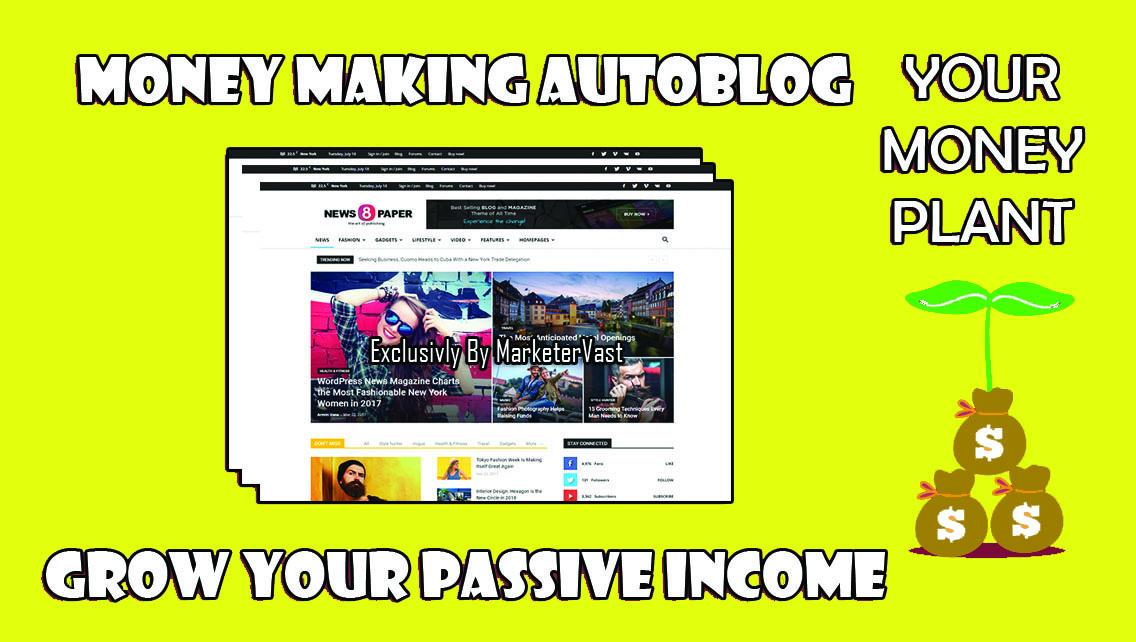 Create Unique Adsense Ready Wordpress Autoblogging We...