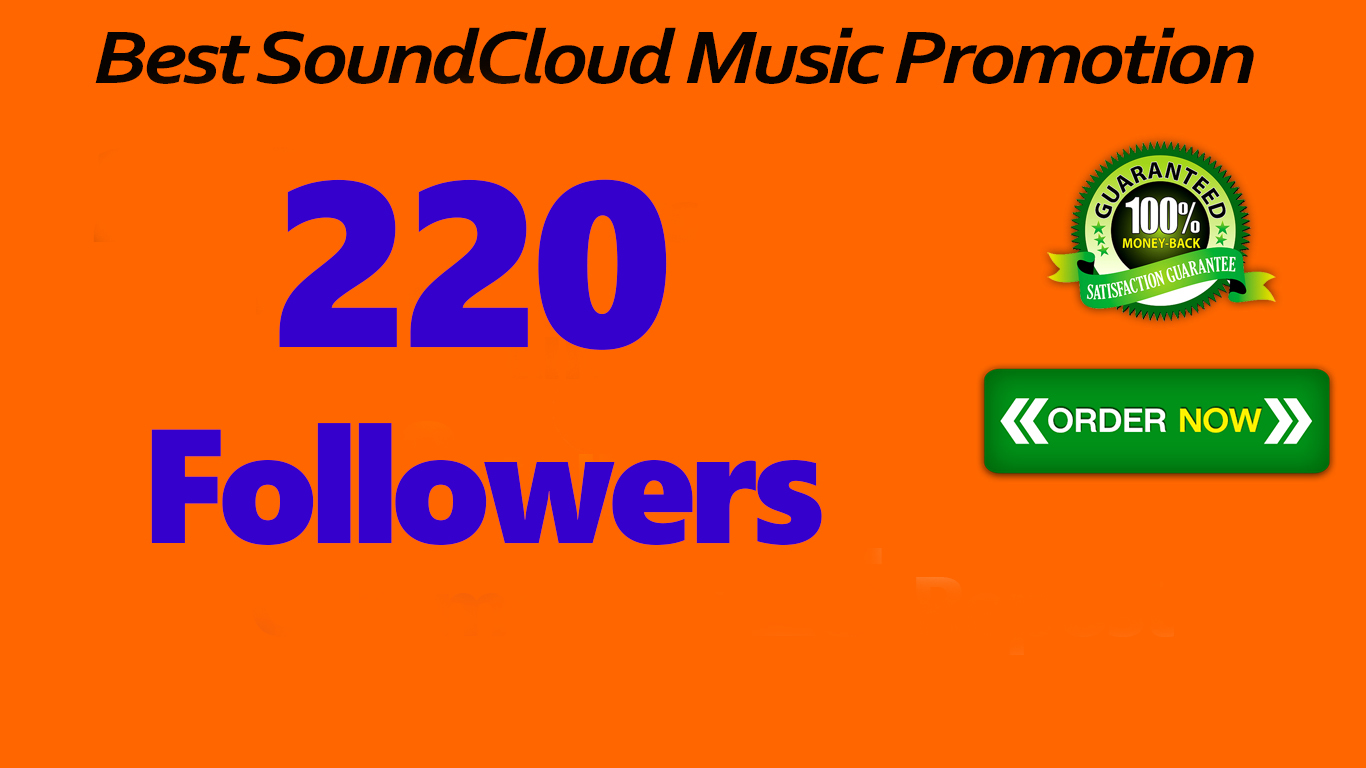 220 SoundCloud Followers