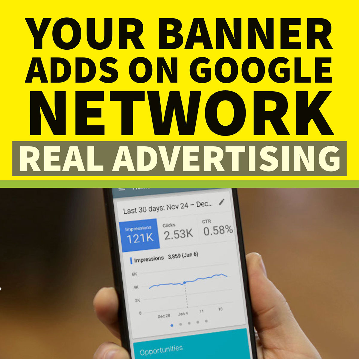 REAL TIME GOOGLE ADVERTISING OFFER,  PLACE YOUR BANNER ADDS ON GOOGLE OR YOUTUBE
