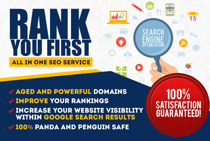 15000 SEO Backlinks,  Website Improving & Google Ranking