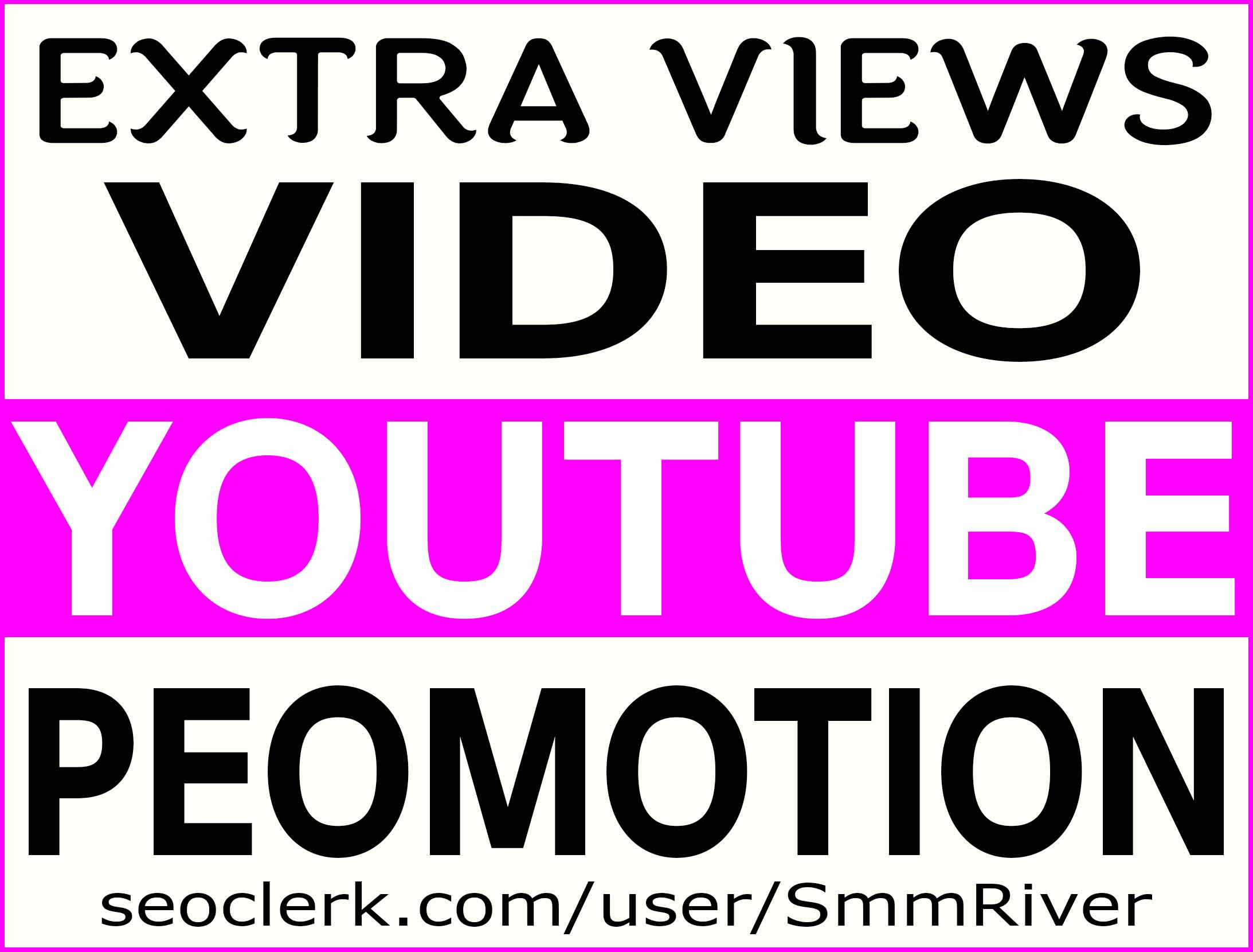 YOUTUBE VIDEO PROMOTION NON DROP & HIGH QUALITY INSTANT