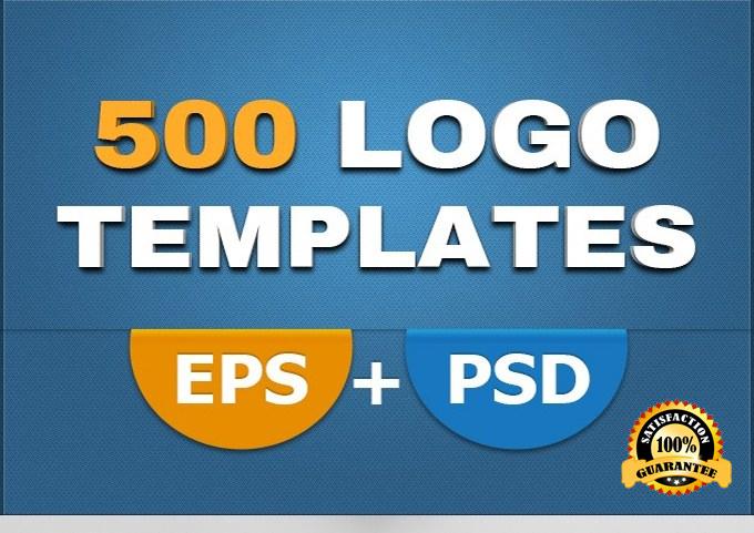 send you 500 psd LOGO designs