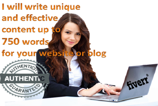 Research and Write Original 750 words Website Content, Article or Blog Post