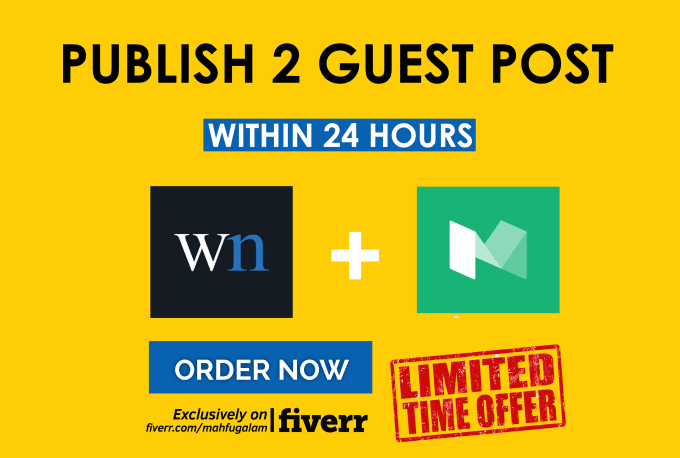 Write And Publish A Guest Post On Medium And Wn