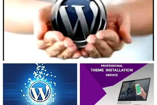 Create A Wordpress Website And Customization