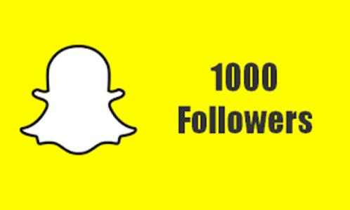 1000+ Snapchat HQ Followers