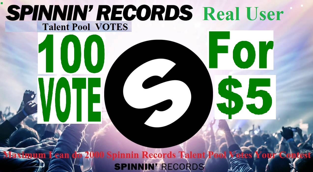 100 Spinnin Records Talent Pool Votes from real people around the worldwide
