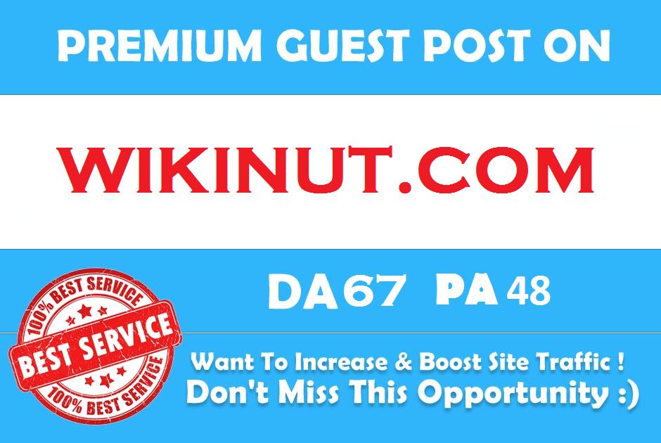 Publish Premium Guest Post On Wikinut Wikinut. com DA 67