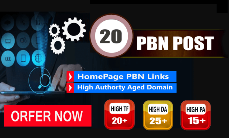 Provide 20 Pbn Links Dofollow Backlinks Improve Your Google Ranking With PBN