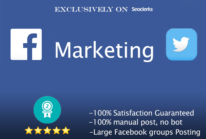 i will give social media Groups Posting service for you