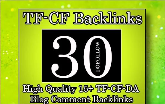 Provide 30 Blog Comment High Quality