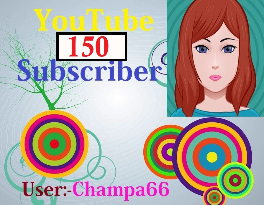 INSTANT START 150+ subscriber non drop on your Channel fast complete only
