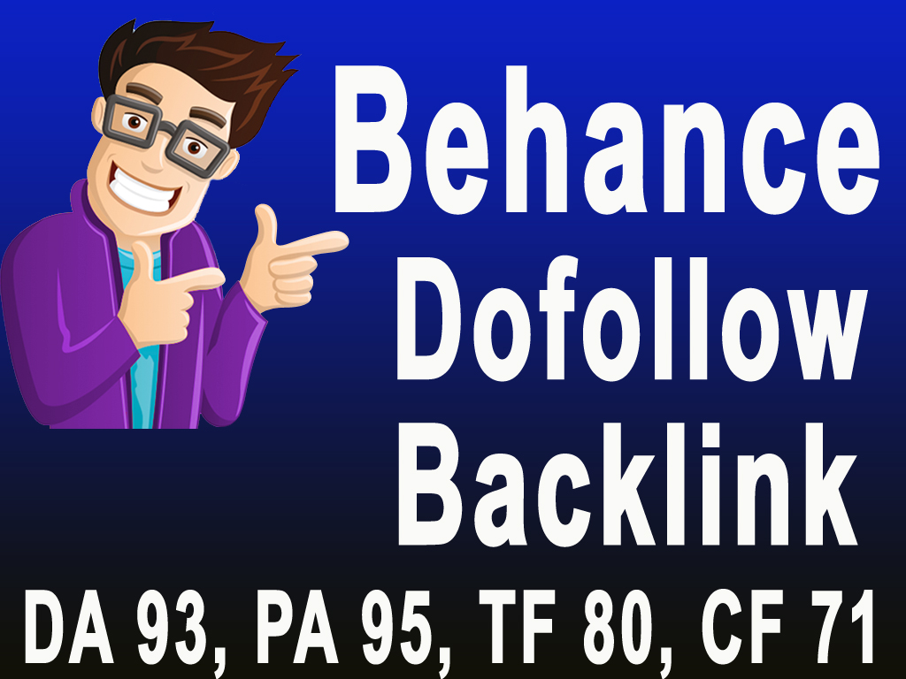 Increase Your Google Rank with High Quality Behance Guest post & Dofollow Backlinks DA93, PA95